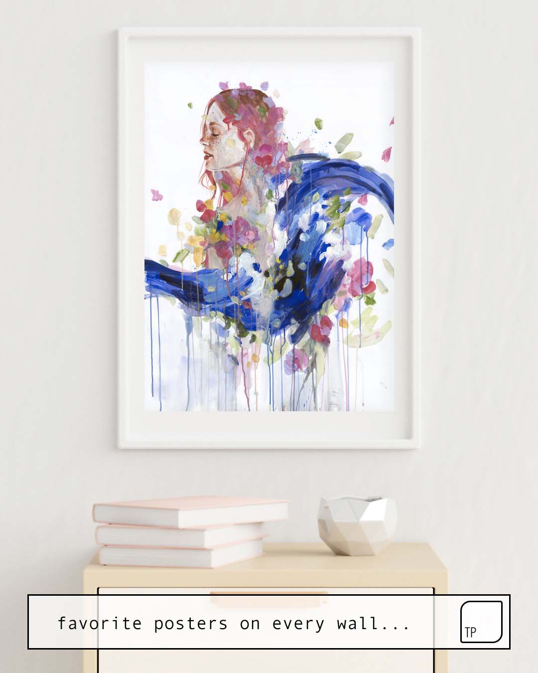 Poster | BOUQUET OF EMOTIONS by Agnes Cecile