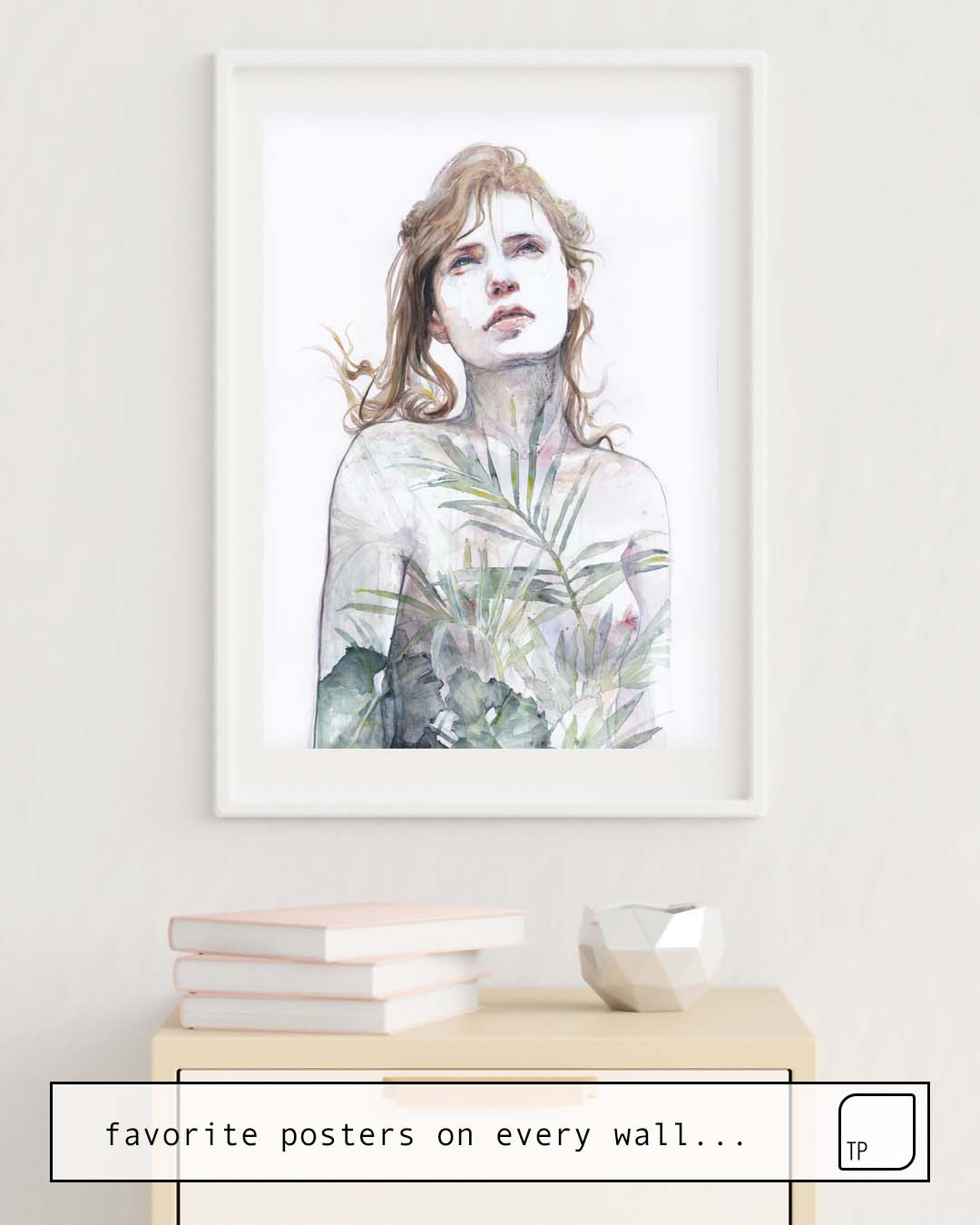 Poster | BREATHE IN, BREATHE OUT by Agnes Cecile
