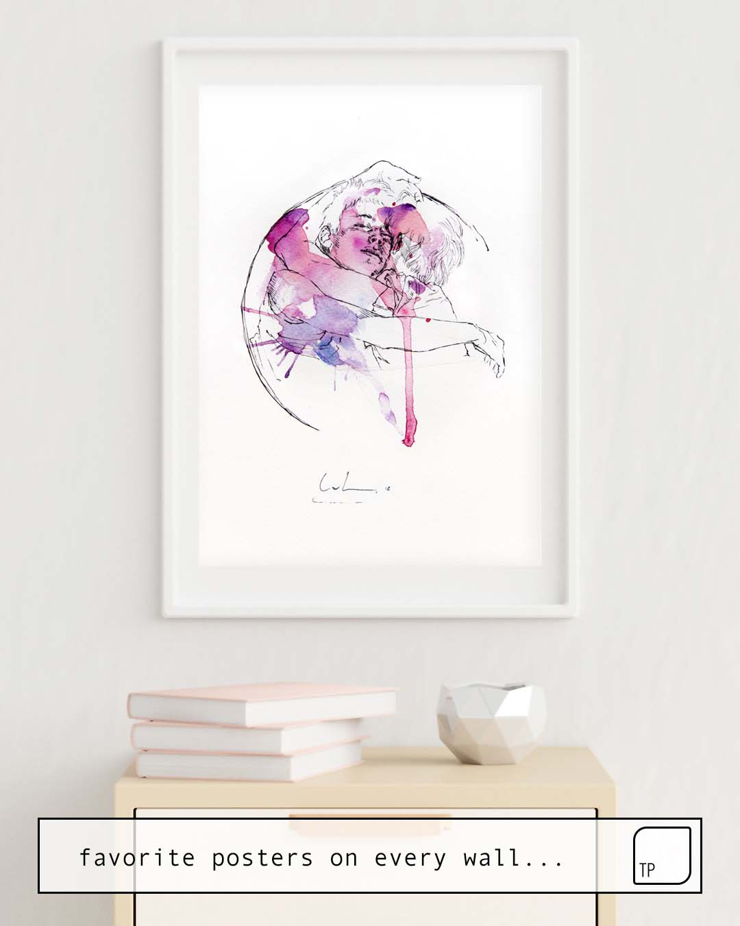 Poster | CIRCLES – BROTHERS by Agnes Cecile