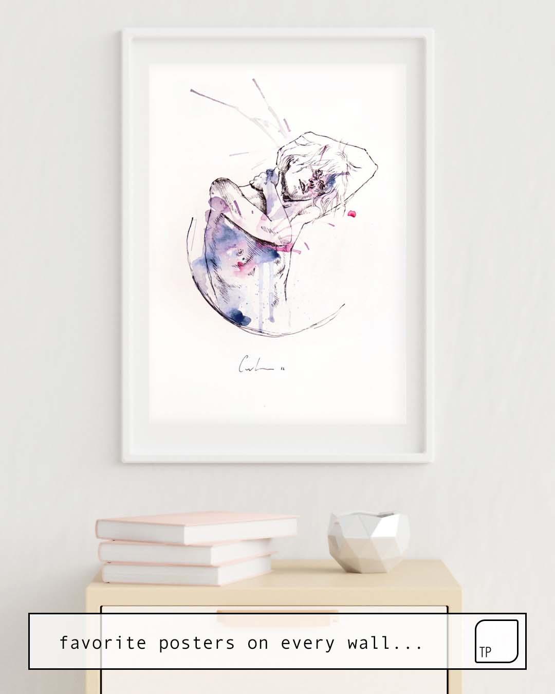 Poster | CIRCLES – CON OCCHI PORPORA by Agnes Cecile