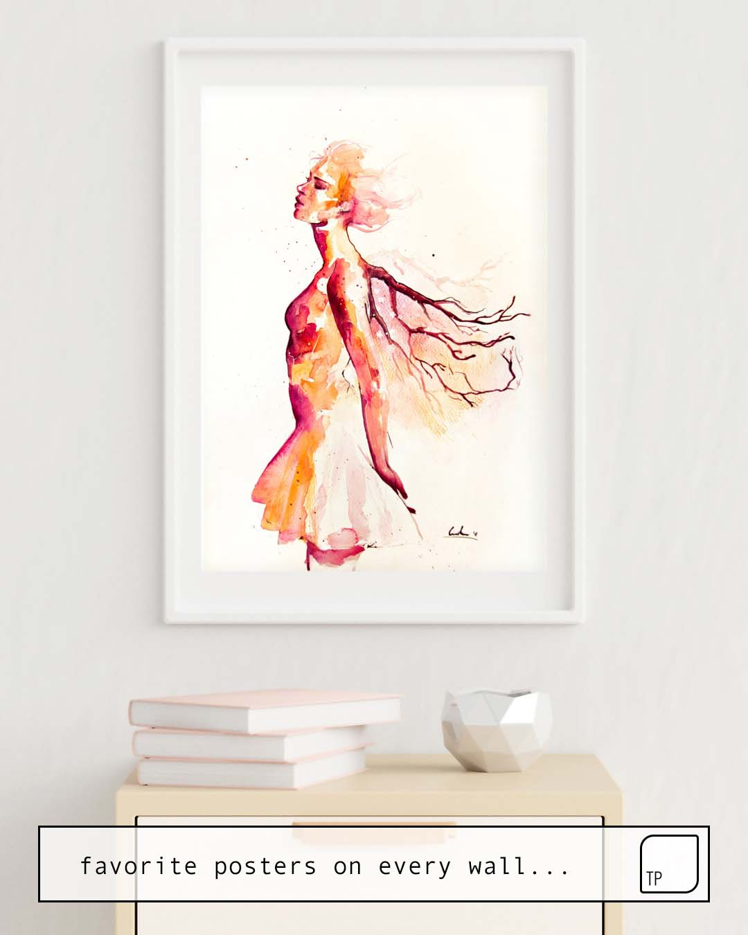 Poster | COMES LIGHT by Agnes Cecile