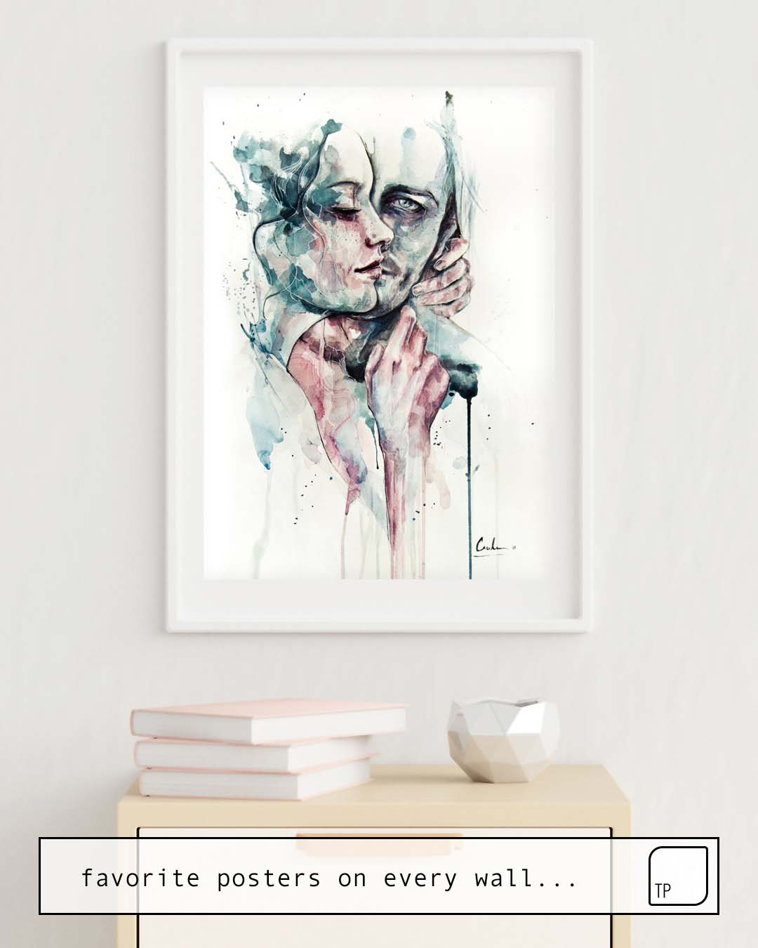 Poster | FOREVER YOURS FRECKLES by Agnes Cecile