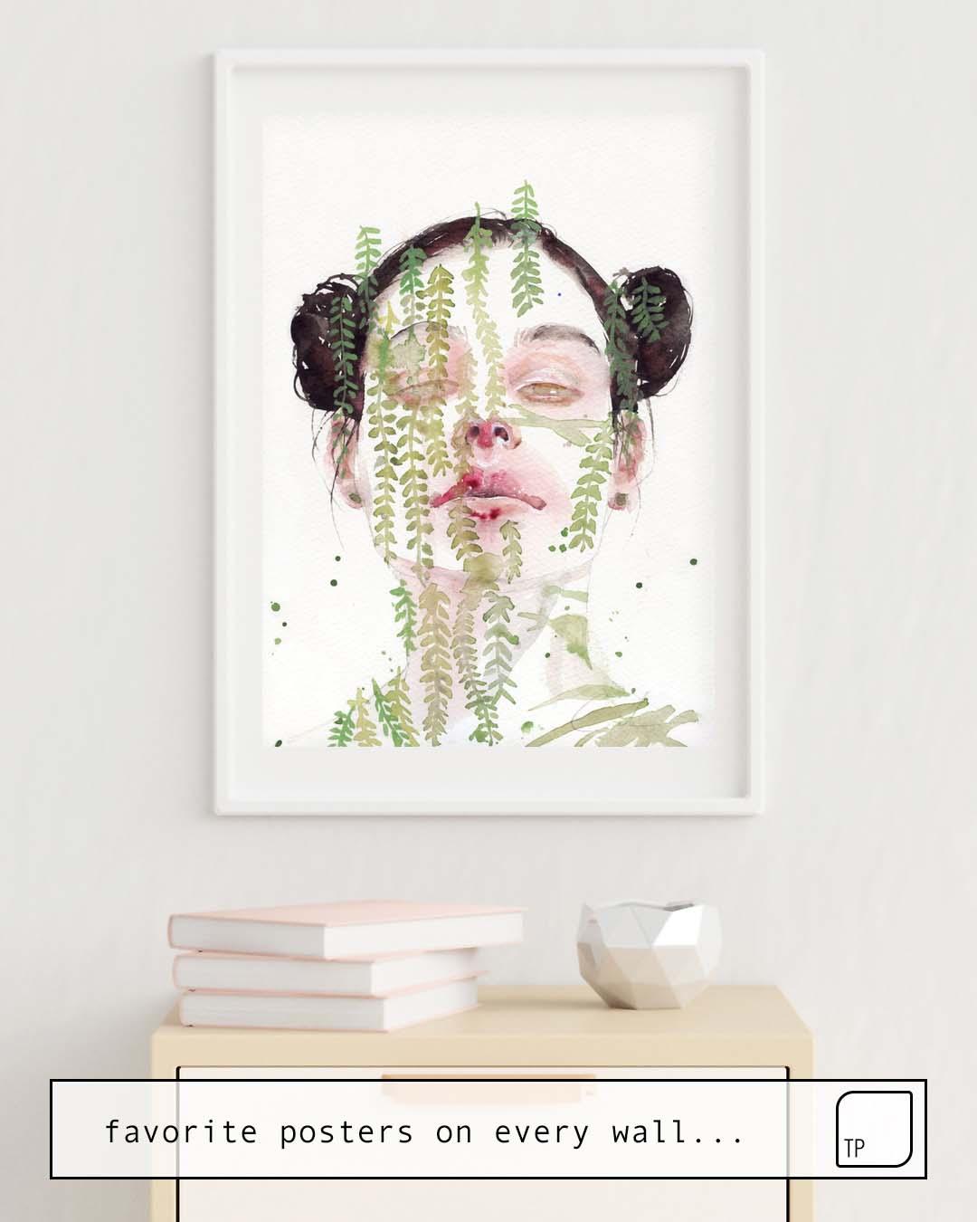 Affiche | GARDEN IX par Agnes Cecile