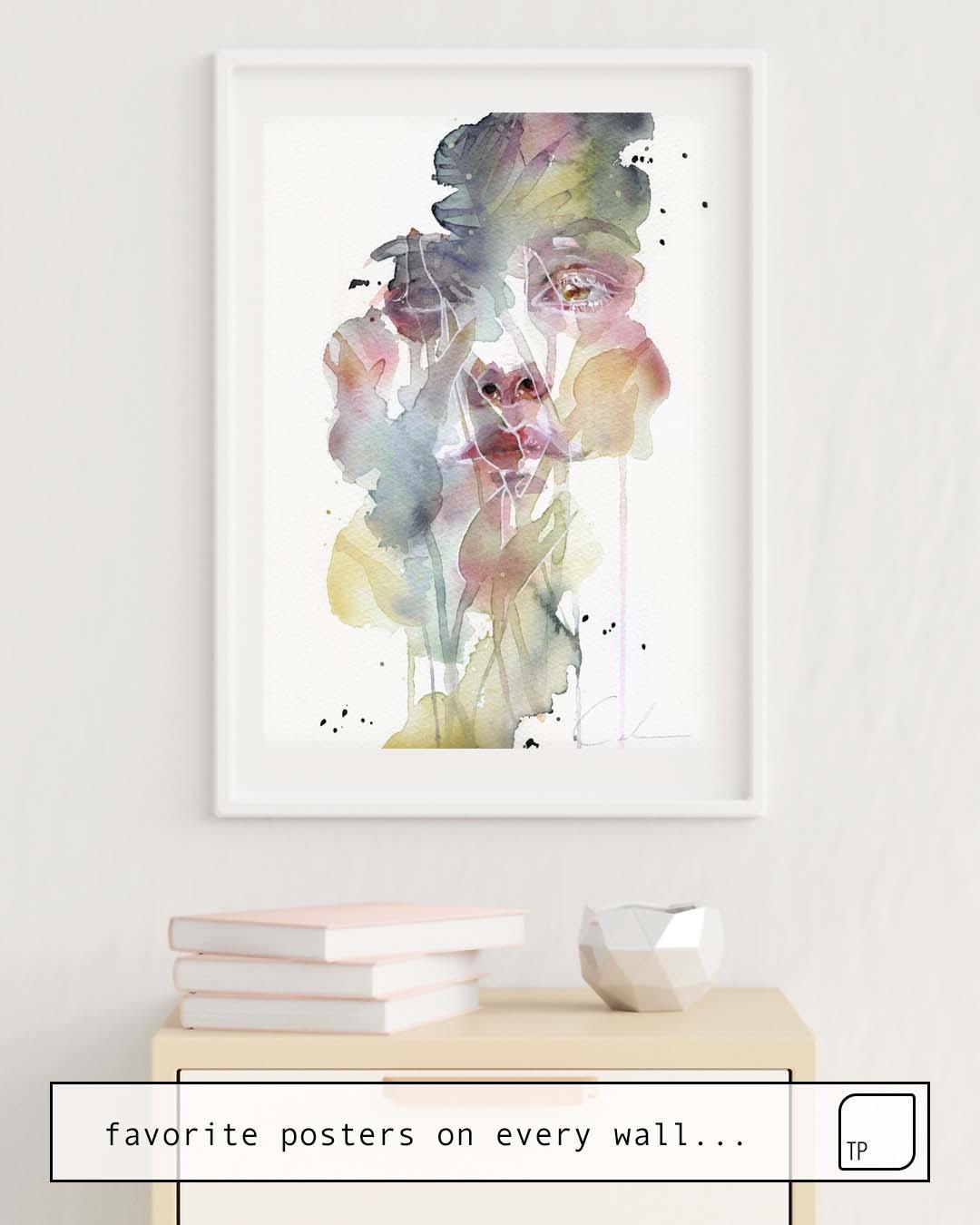 Affiche | GARDEN VI par Agnes Cecile