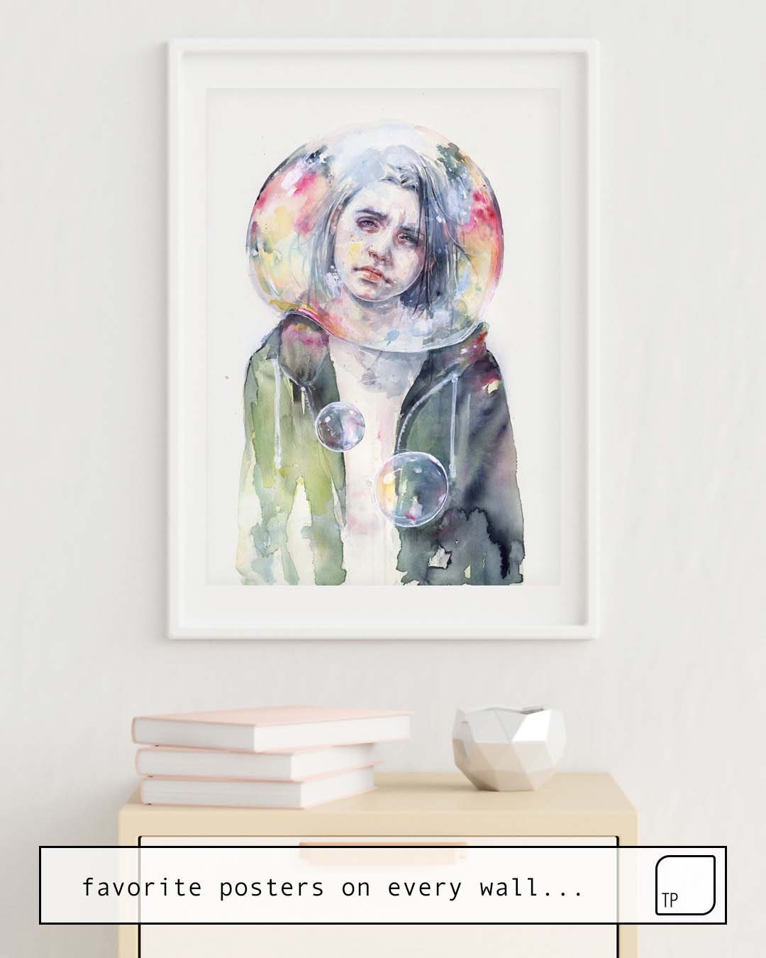 Poster | GOODMORNING WORLD von Agnes Cecile