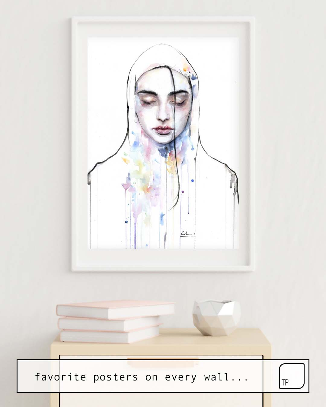 Poster | HABIBI (NUDITY) by Agnes Cecile