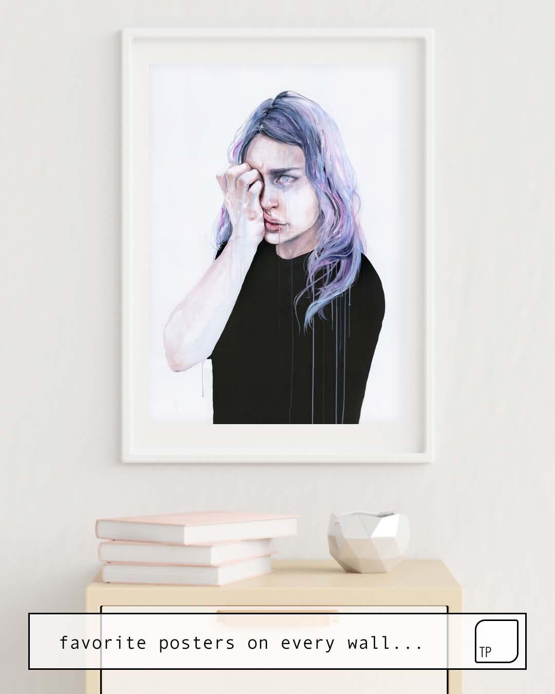Affiche | I COULD BUT I CAN'T par Agnes Cecile