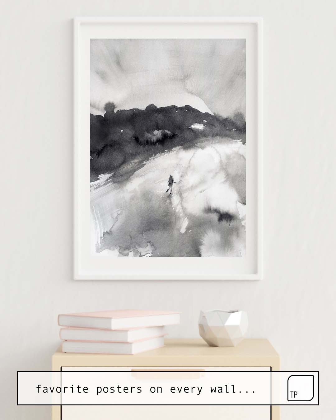 Poster | RUN AWAY von Agnes Cecile