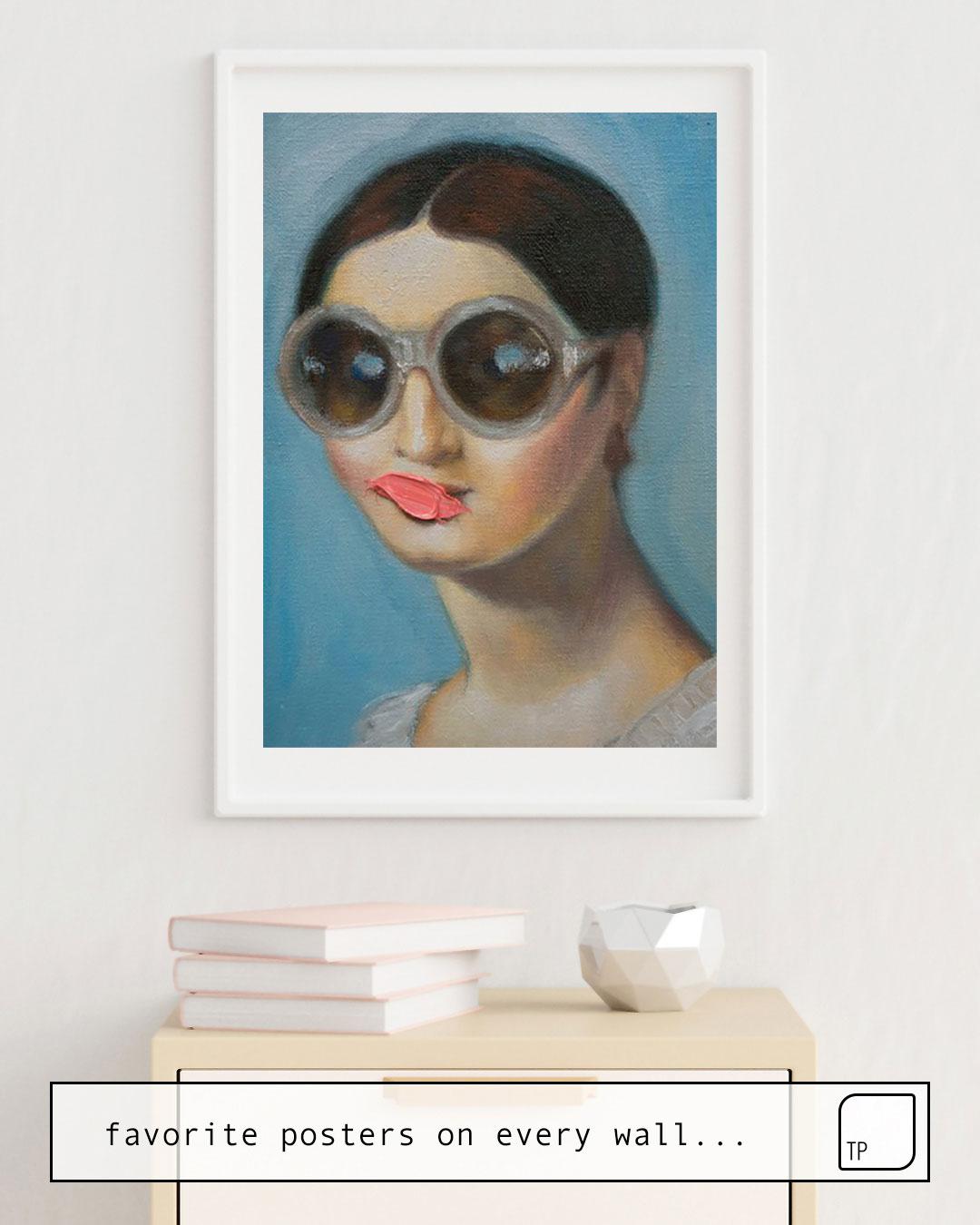 Poster   MADEMOISELLE RIVIERE von Alexander Grahovsky