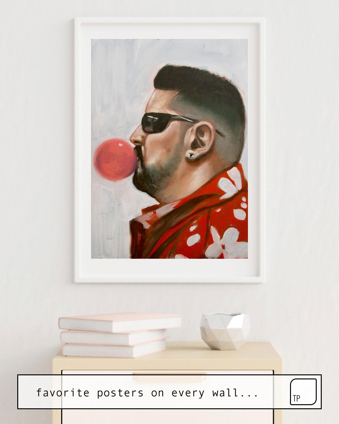 Poster   THE BARBER'S CREW I von Alexander Grahovsky