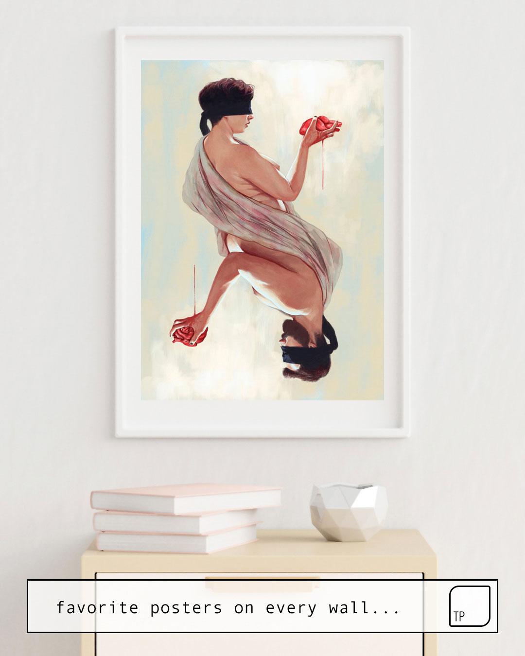 Poster   TWO HEARTS von Alexander Grahovsky