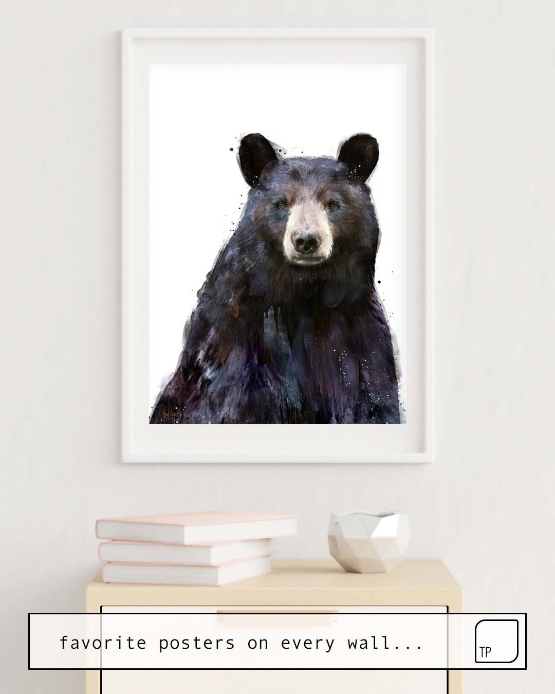 Poster | BLACK BEAR von Amy Hamilton
