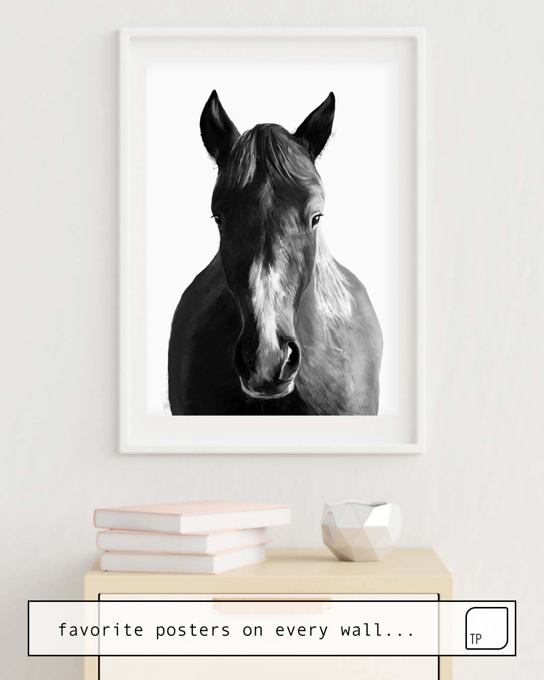 Poster   HORSE by Amy Hamilton