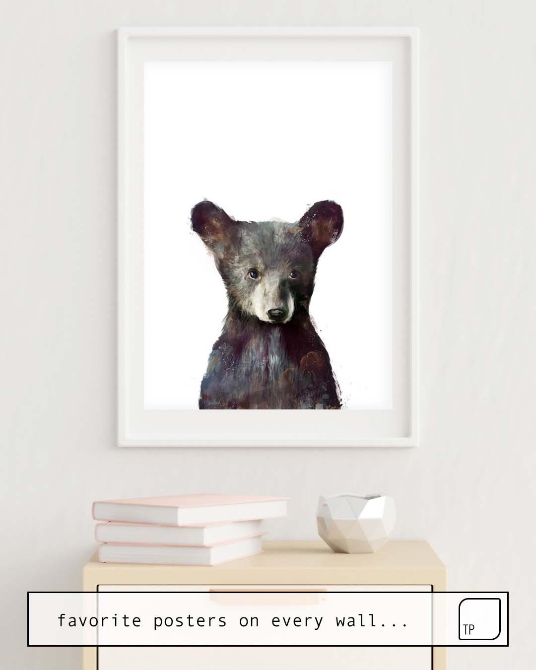 Poster | LITTLE BEAR von Amy Hamilton