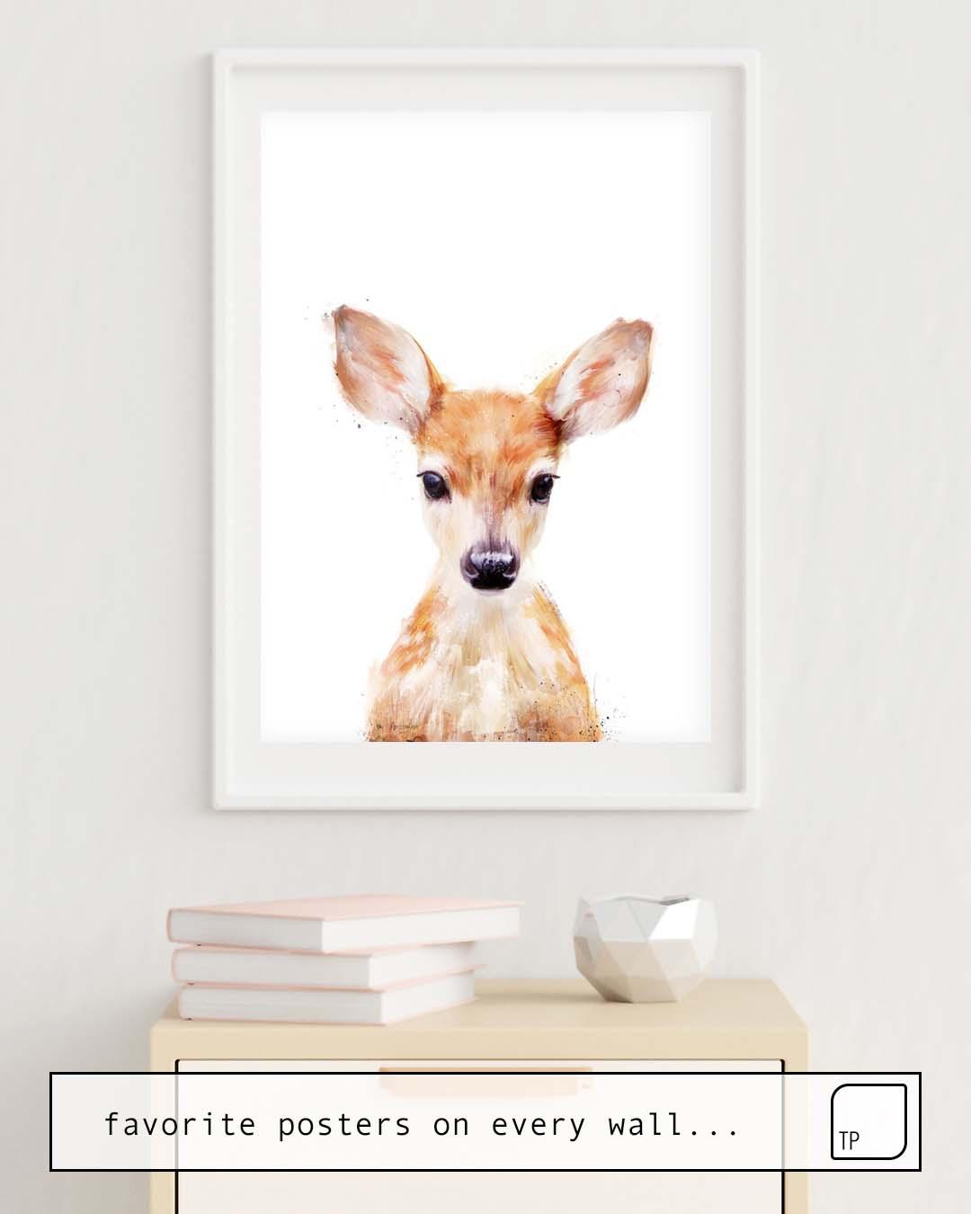Poster | LITTLE DEER von Amy Hamilton