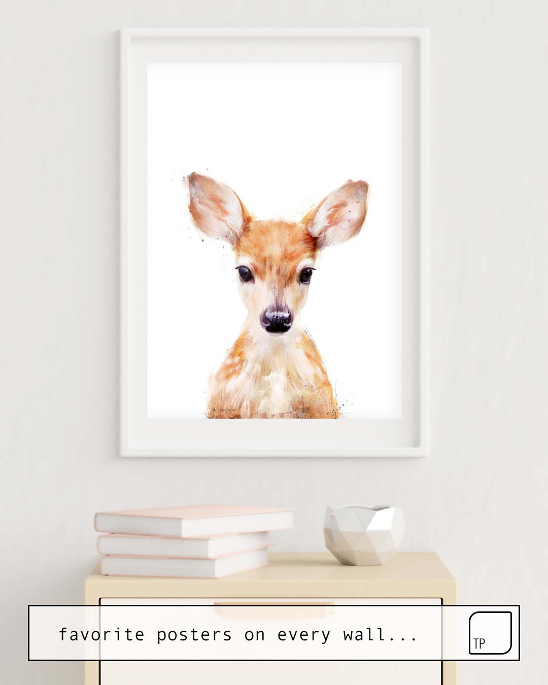 Affiche | LITTLE DEER par Amy Hamilton
