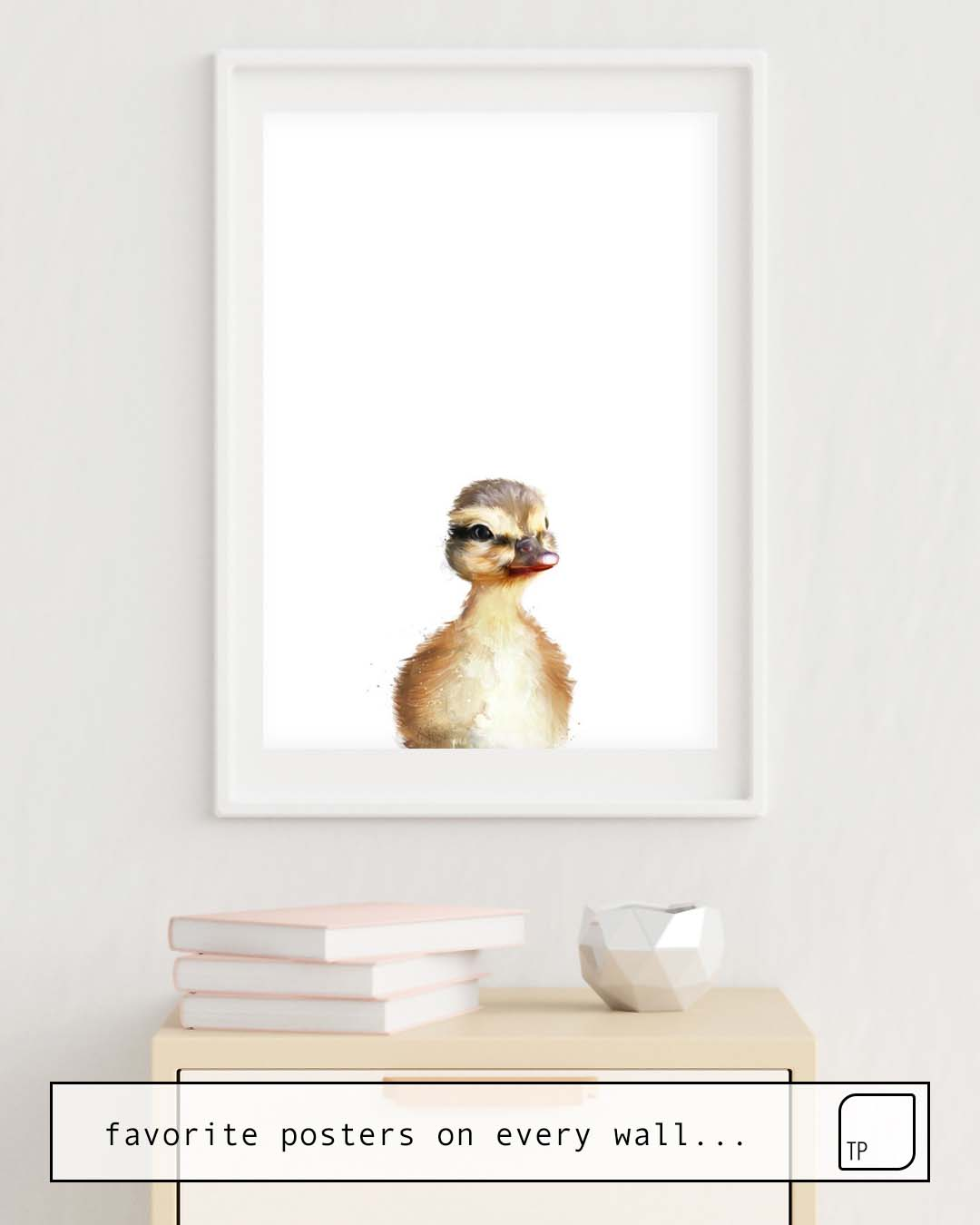 Poster | LITTLE DUCK by Amy Hamilton