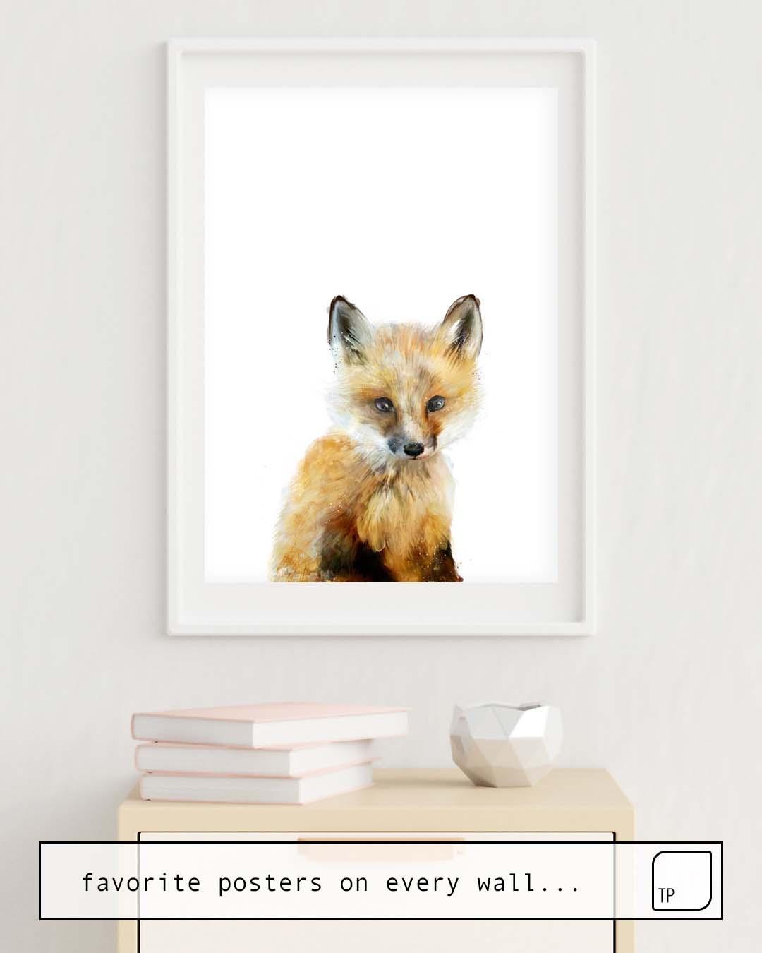 Poster | LITTLE FOX von Amy Hamilton