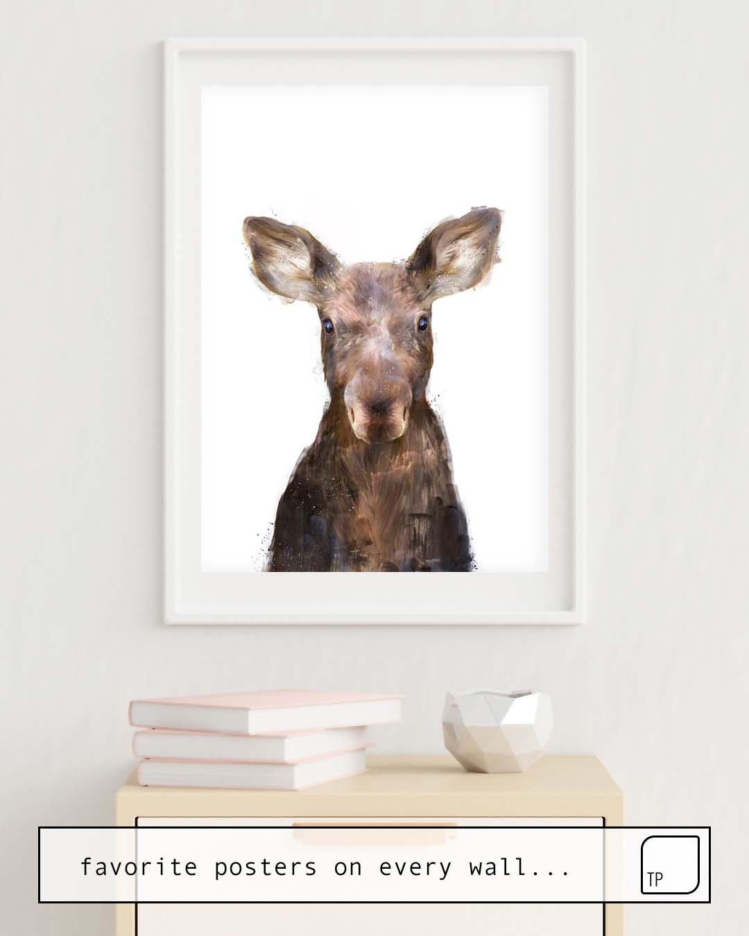 Affiche | LITTLE MOOSE par Amy Hamilton