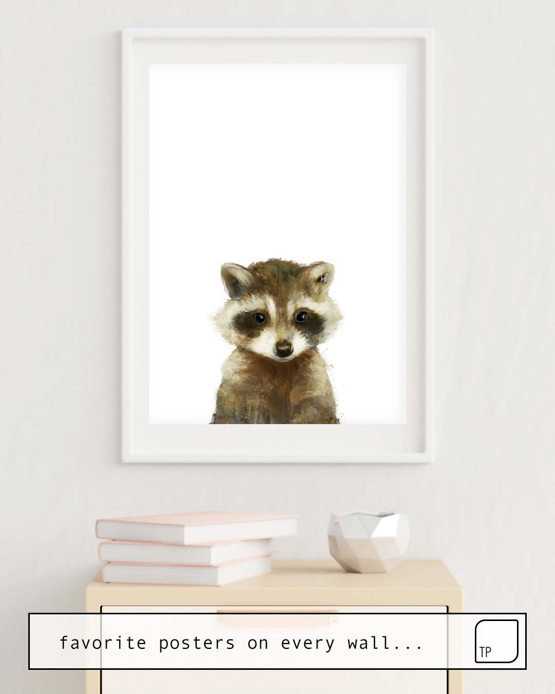 Poster | LITTLE RACCOON by Amy Hamilton