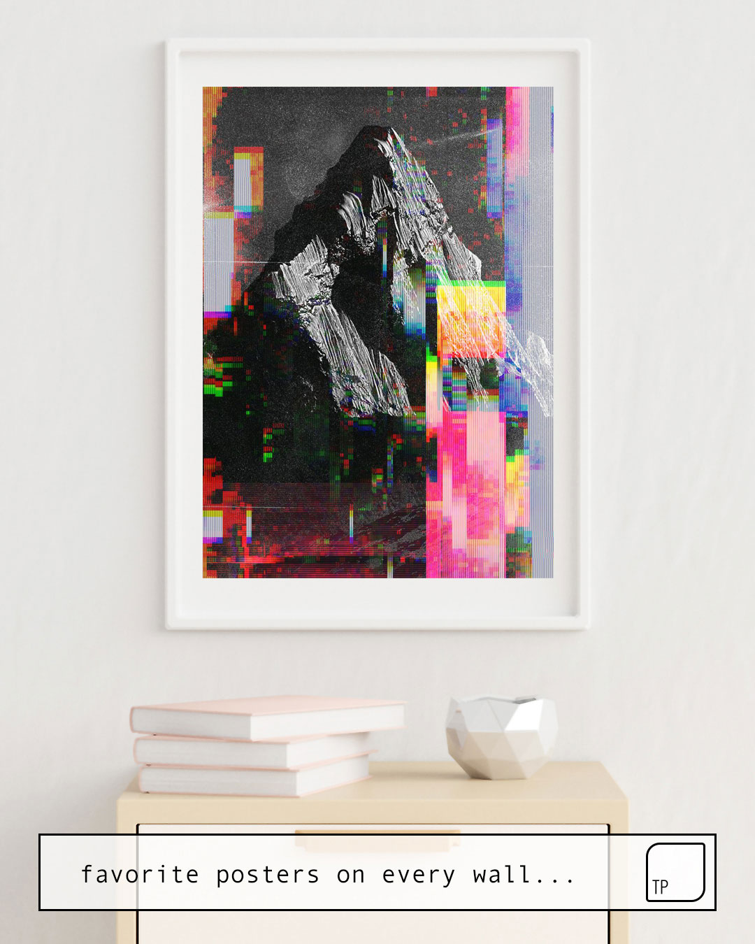 Poster | MOUNTAIN GLITCH III by Andreas Lie