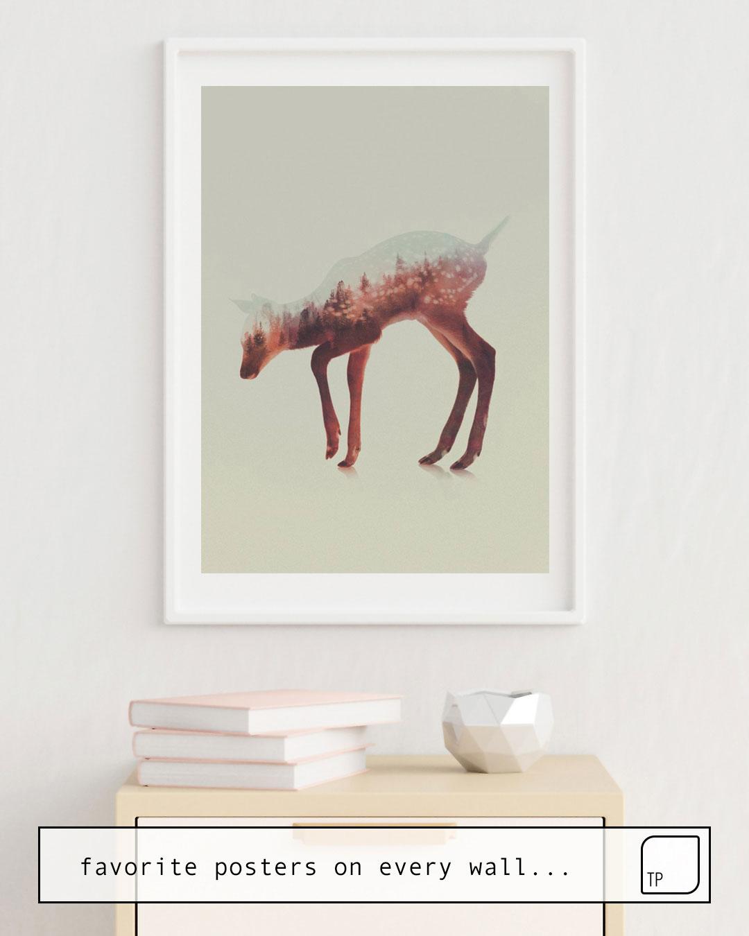 Poster | NORWEGIAN WOODS: THE DEER by Andreas Lie