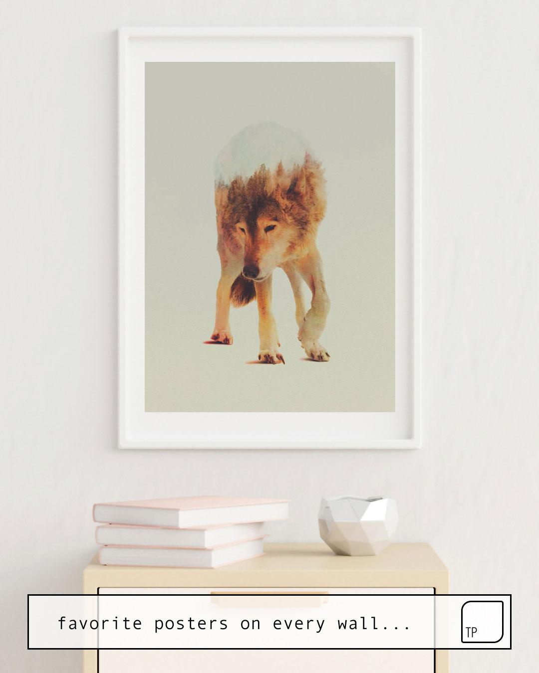 Poster | NORWEGIAN WOODS: THE GREY WOLF von Andreas Lie