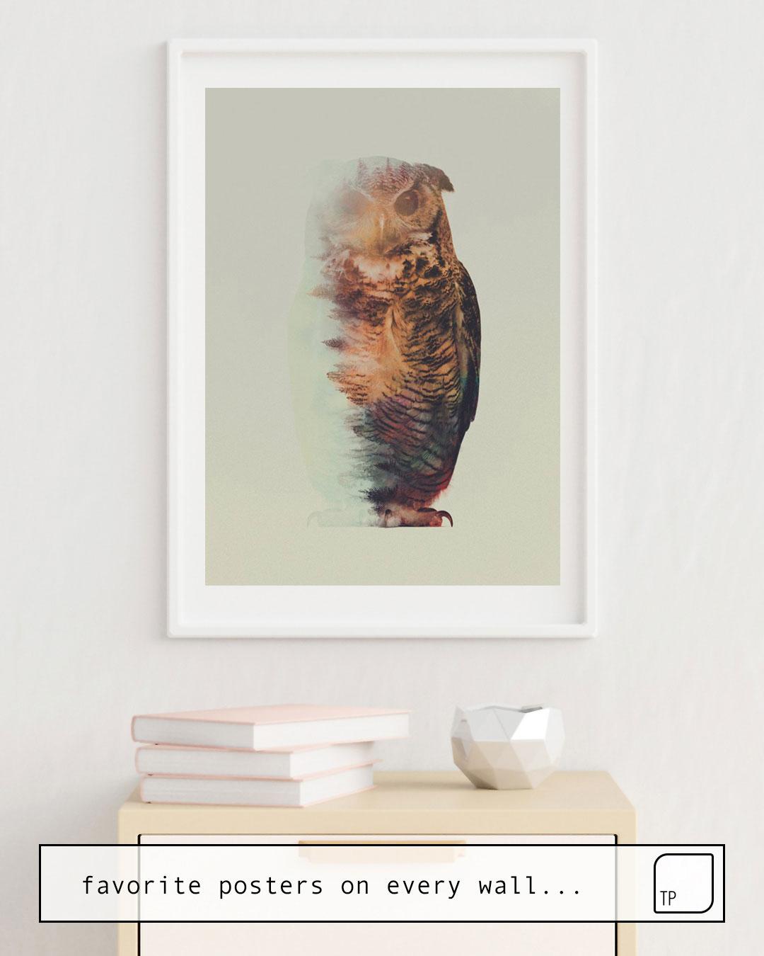 Affiche | NORWEGIAN WOODS: THE OWL par Andreas Lie