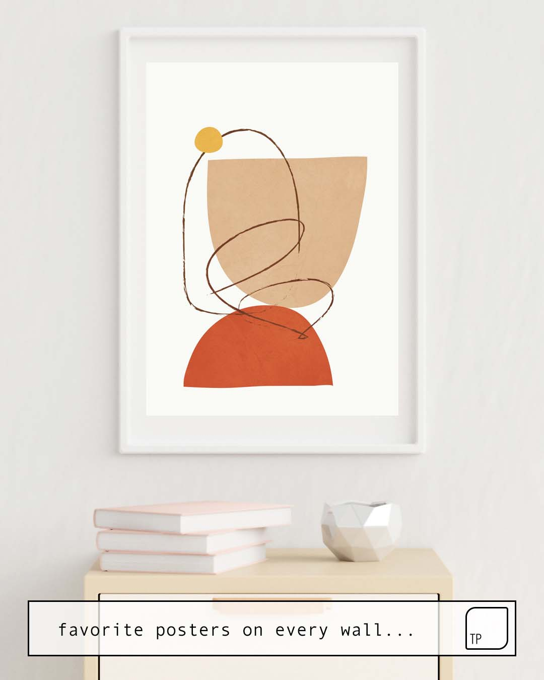 Affiche | ABSTRACT SHAPES 5 par Andreas12
