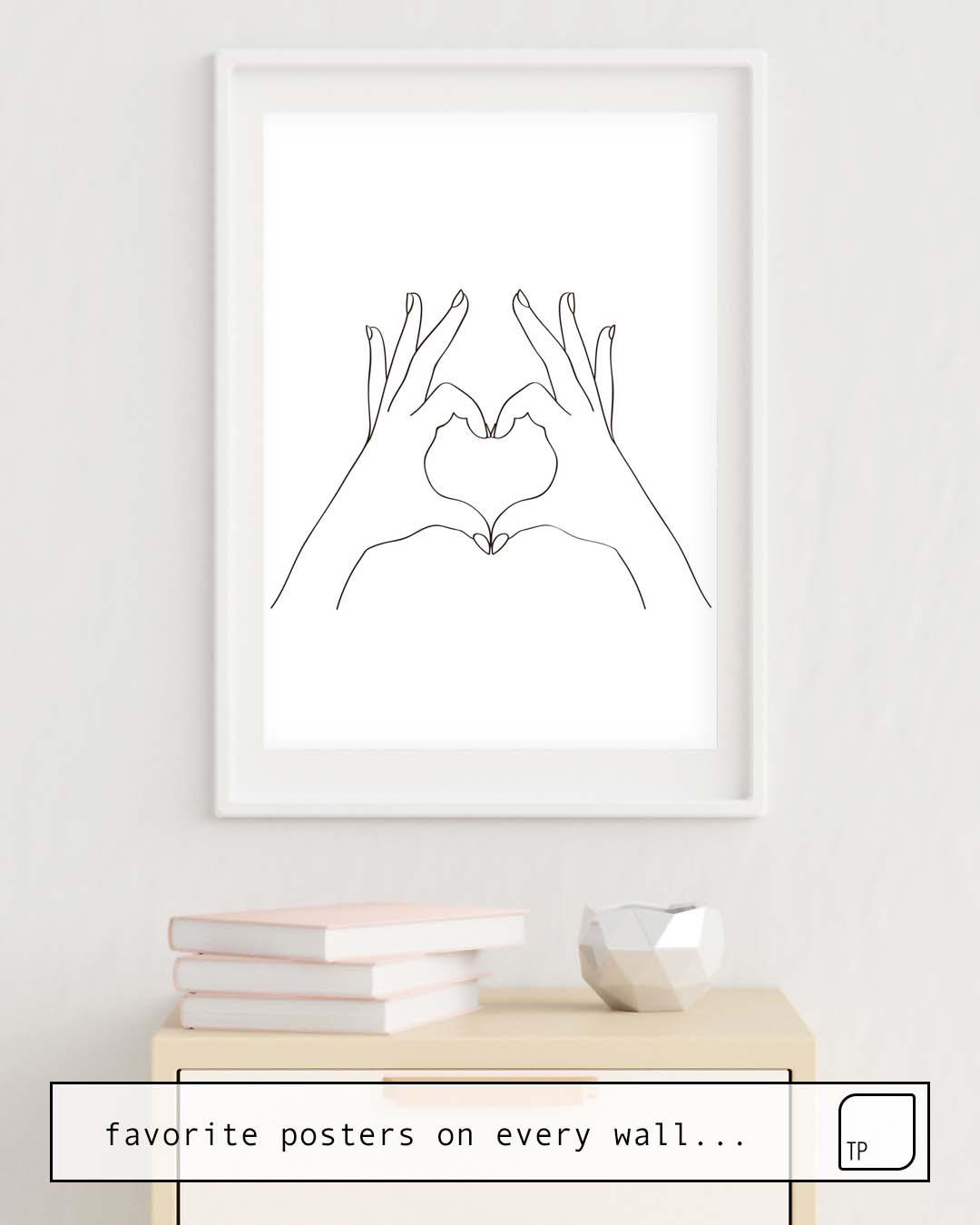 Poster | LOVE HEART von Andreas12
