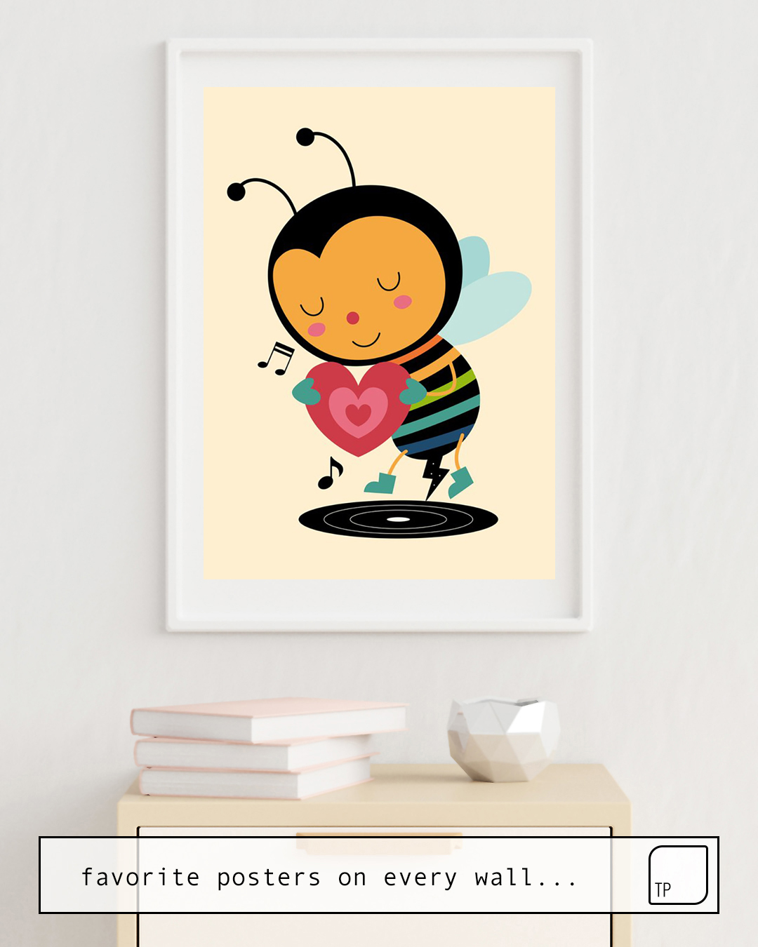 Poster | BEE YOURSELF by Andy Westface