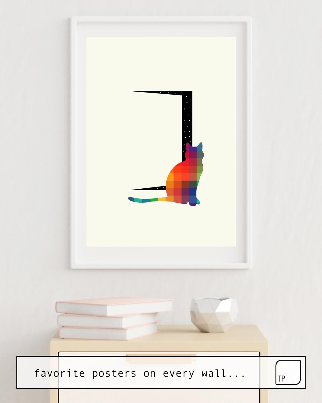 Affiche | CURIOSITY par Andy Westface
