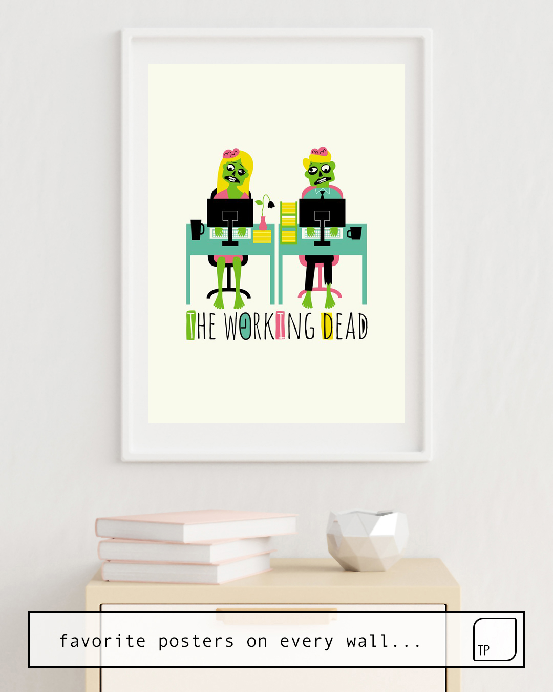 Poster | THE WORKING DEAD by Andy Westface