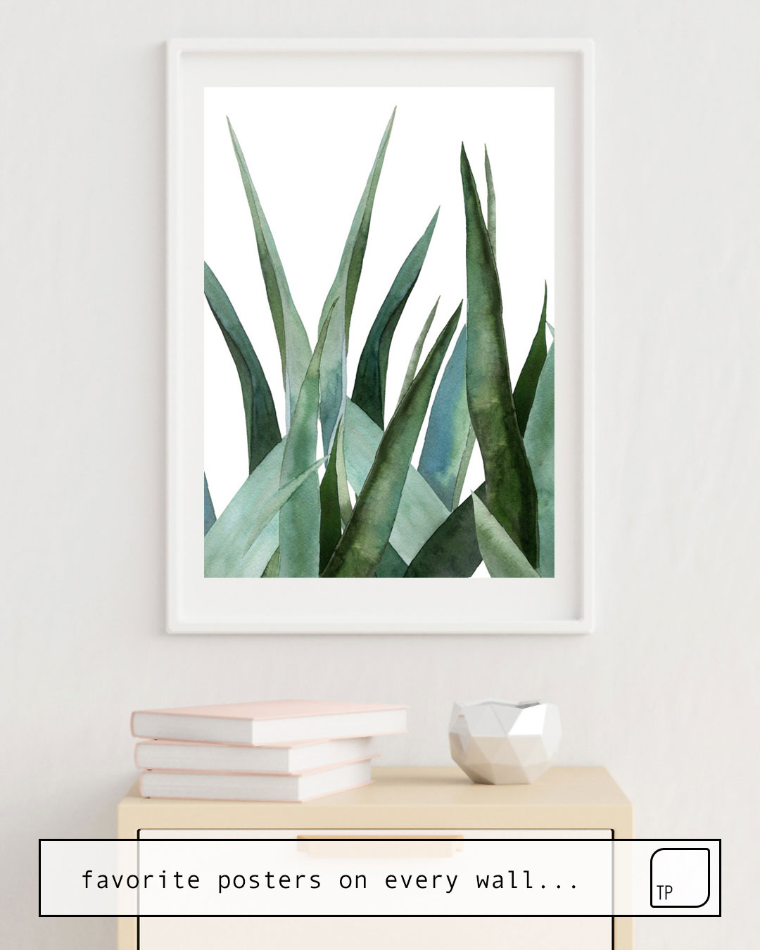 Poster | AGAVE LEAVES by Art by ASolo