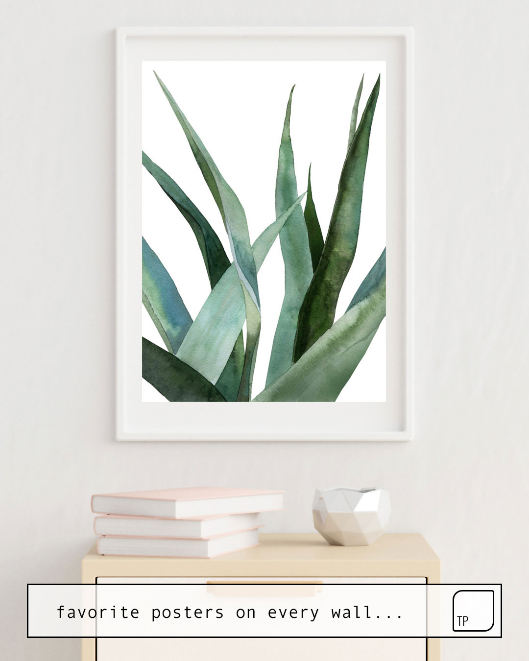Poster | AGAVE PLANTS by Art by ASolo