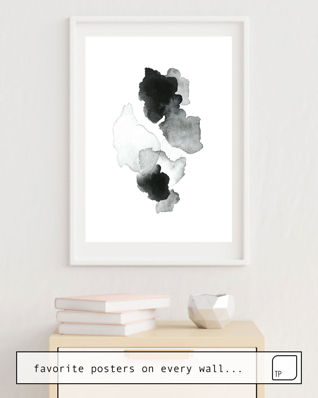 Poster | BLACK BLOT. von Art by ASolo