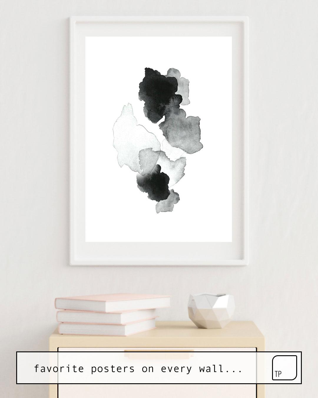 Affiche   BLACK BLOT. par Art by ASolo