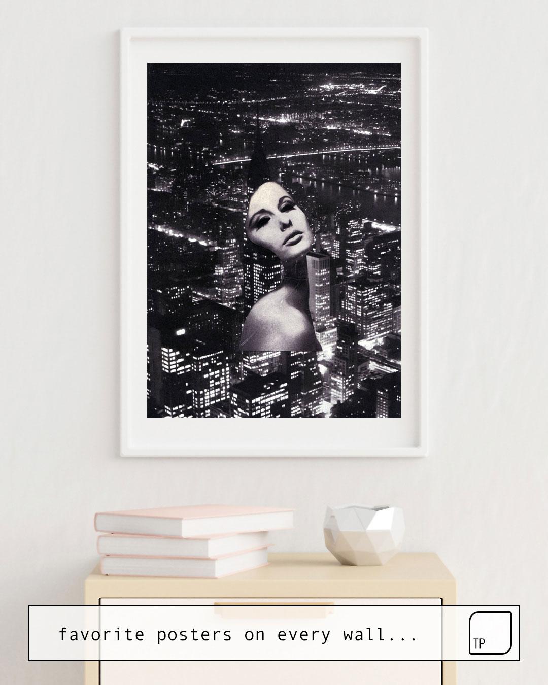 Poster | CITIES von Beth Hoeckel