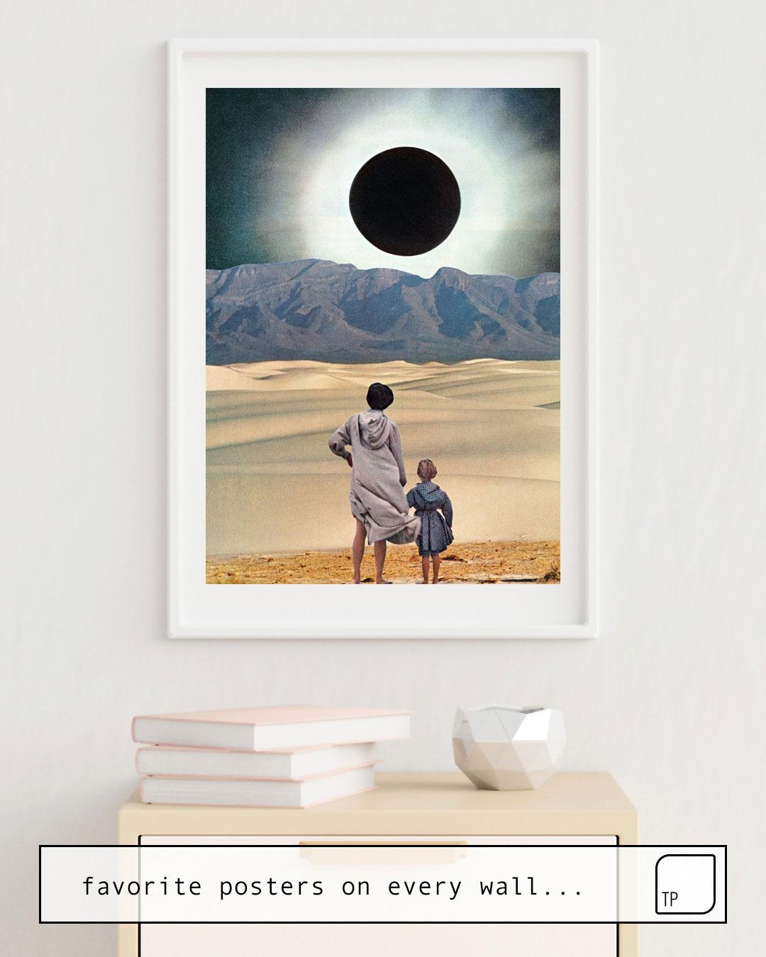 Poster | DISTANCE von Beth Hoeckel