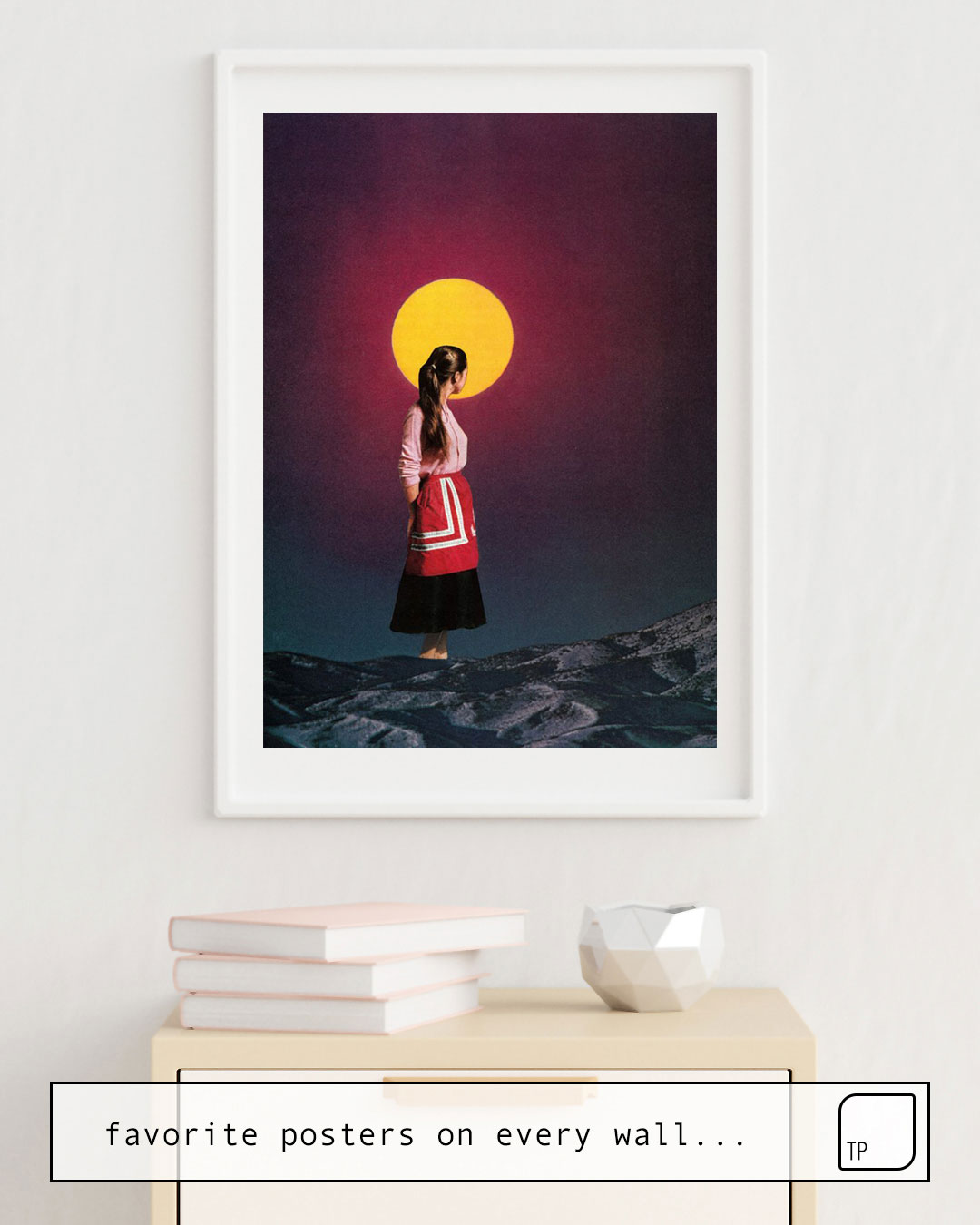 Poster | GOLDEN MOON by Beth Hoeckel