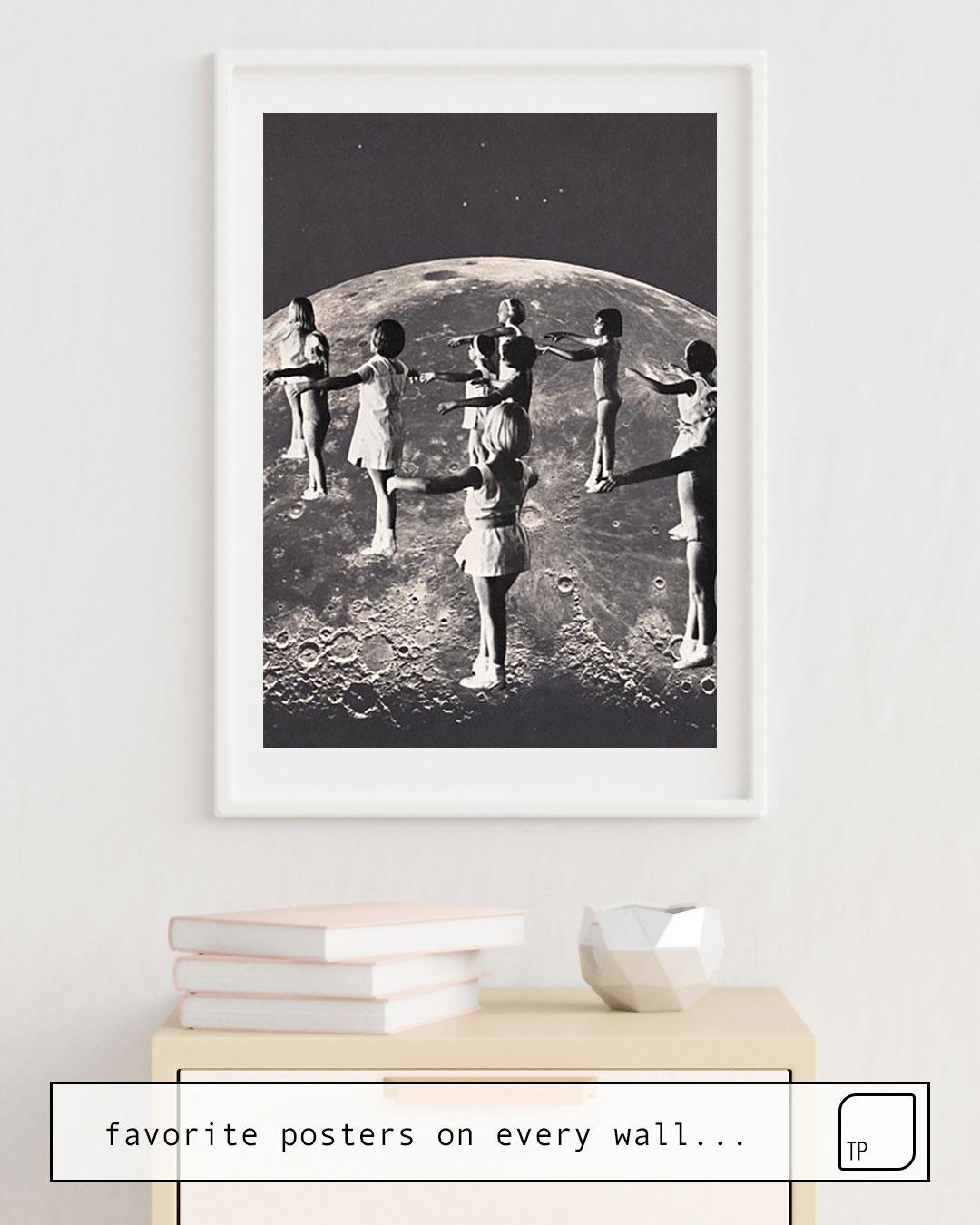 Poster | MOONDANCE von Beth Hoeckel