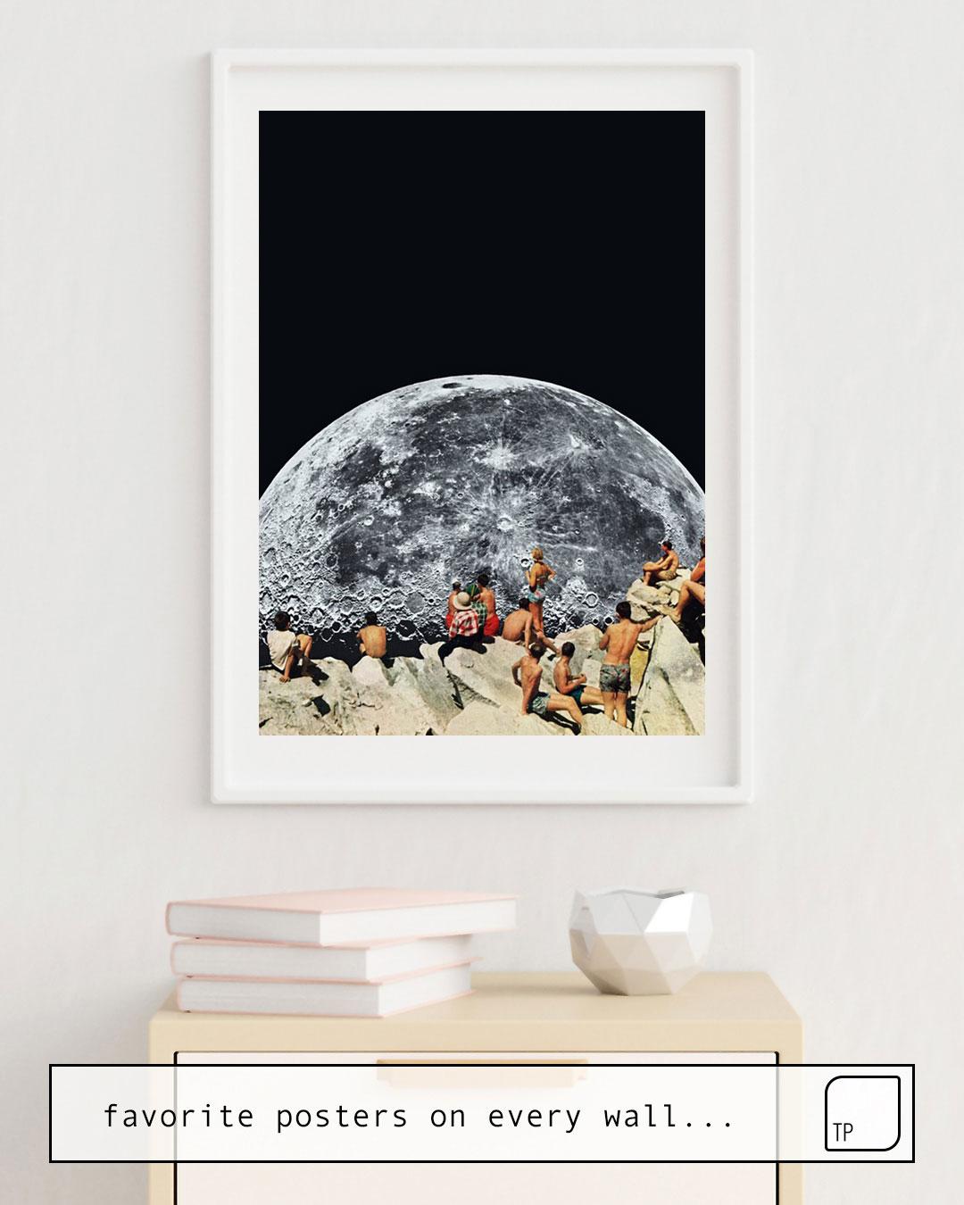 Poster | MOONRISE von Beth Hoeckel