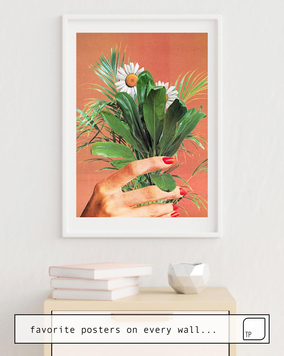Affiche   PLANT BASED par Beth Hoeckel