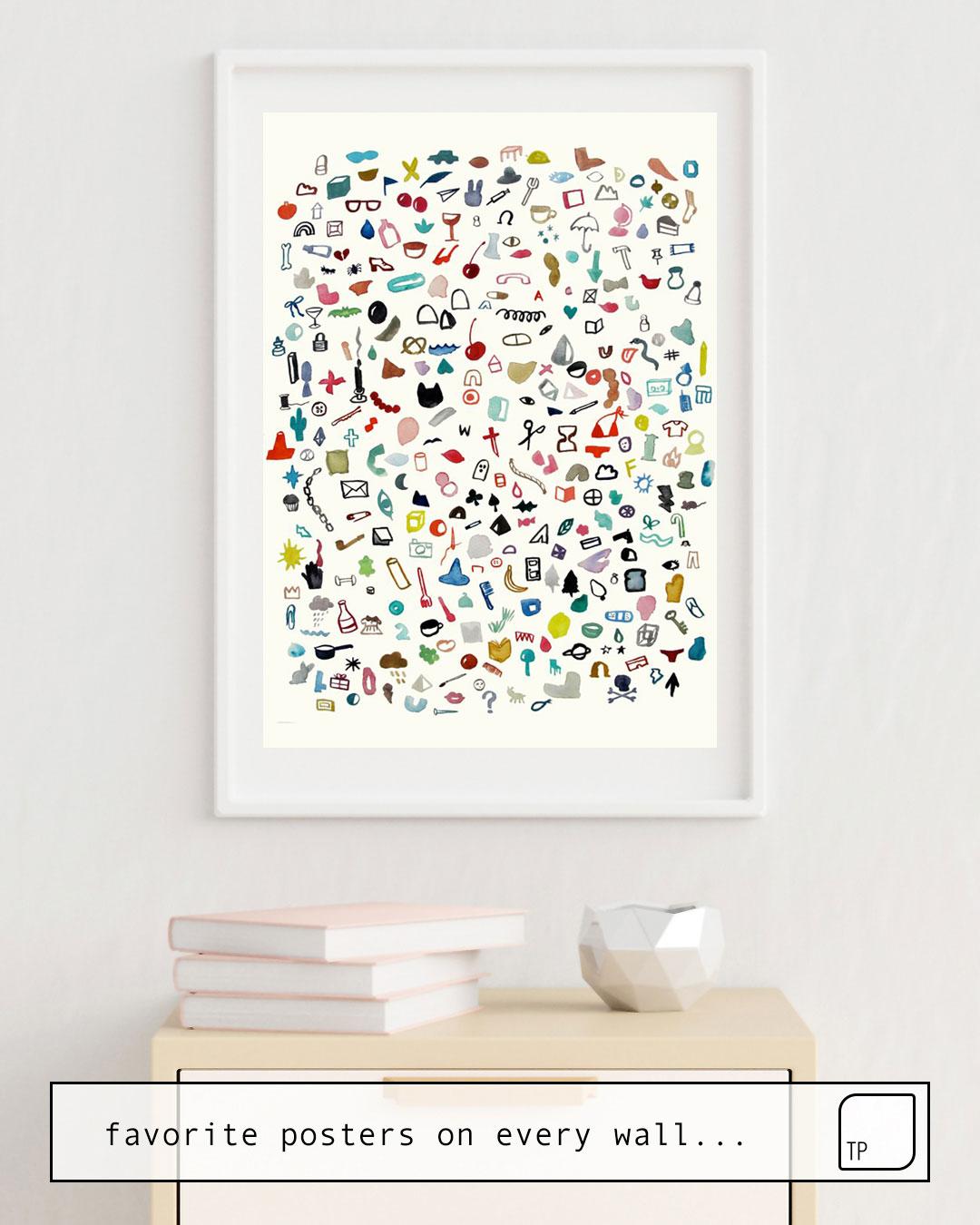 Poster | TREASURE von Beth Hoeckel