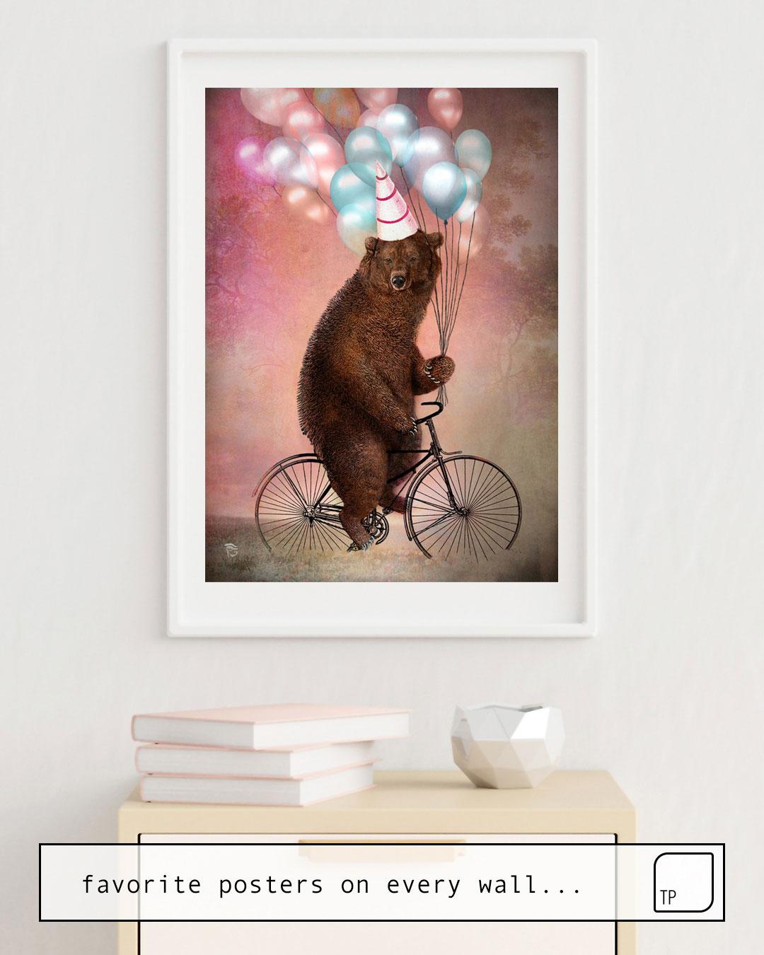 Poster   BIRTHDAY BEAR von Christian Schloe