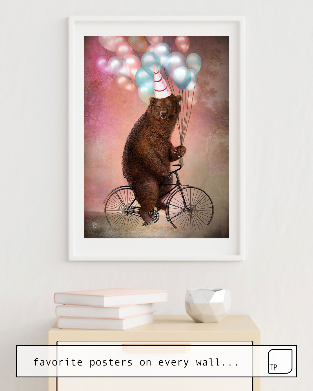Poster | BIRTHDAY BEAR by Christian Schloe