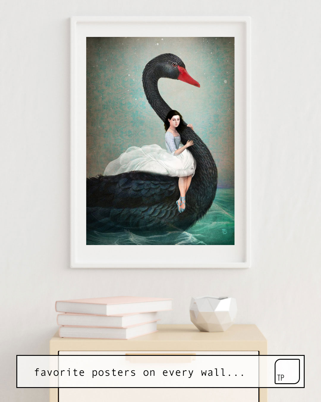 Affiche | BLACK SWAN par Christian Schloe