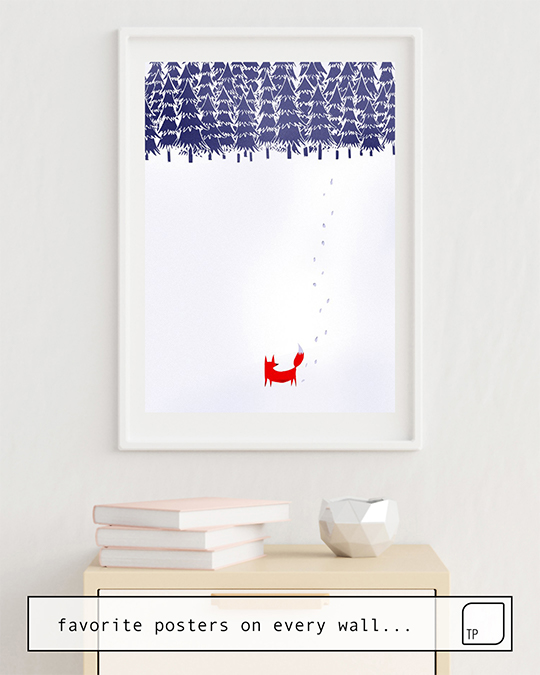 Poster | ALONE IN THE FOREST by Robert Farkas