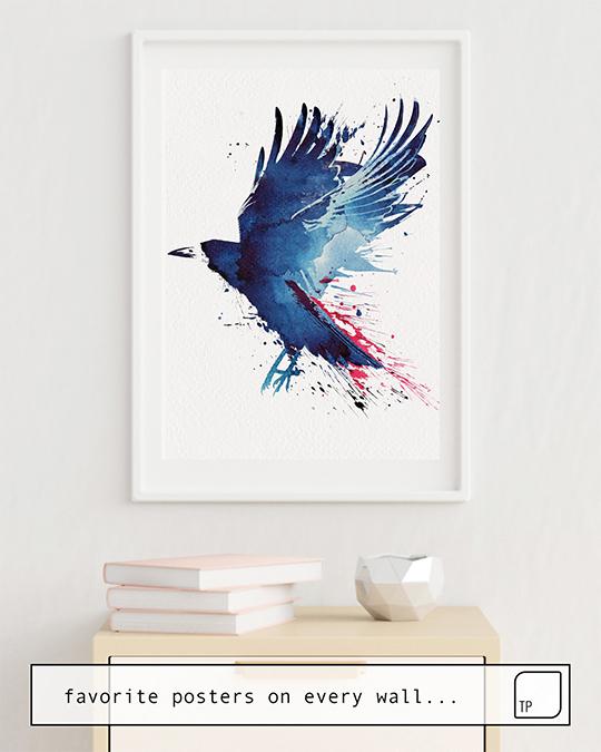 Poster | BLOODY CROW von Robert Farkas