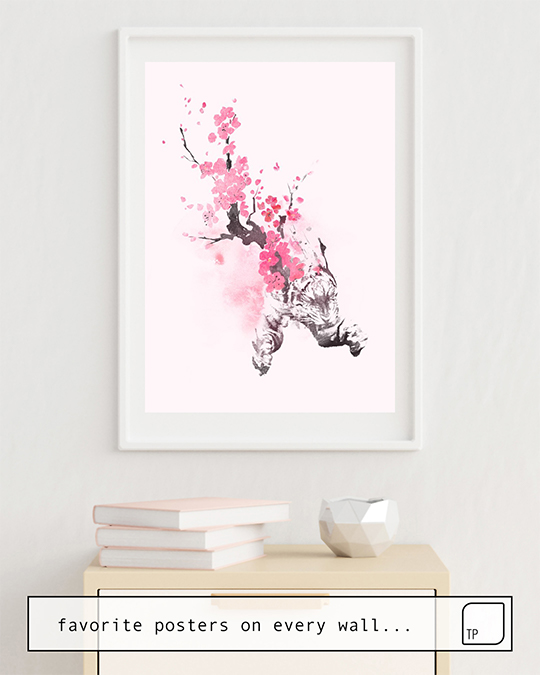 Poster | BLOOMING ATTACK by Robert Farkas